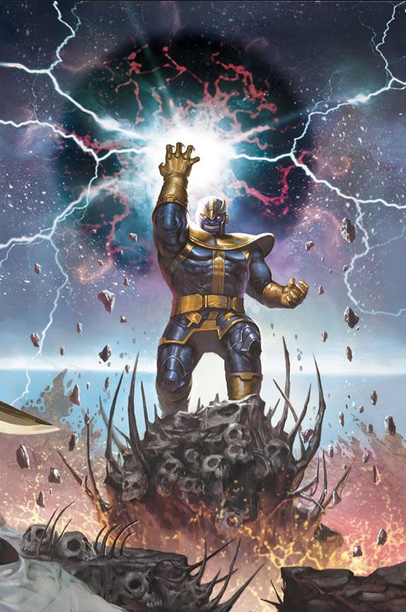 Thanos Marvel Comics