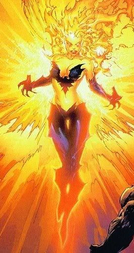 Jean Grey Phoenix Marvel Comics