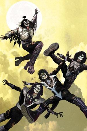 Kiss: Zombies #1 Dynamite