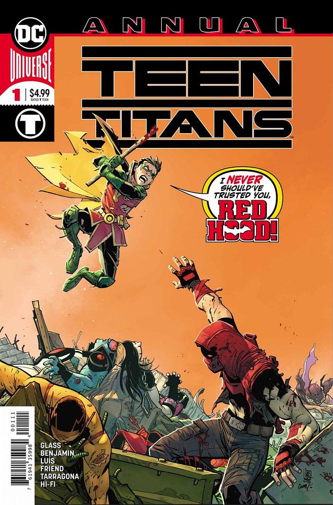 Teen Titans Annual #1