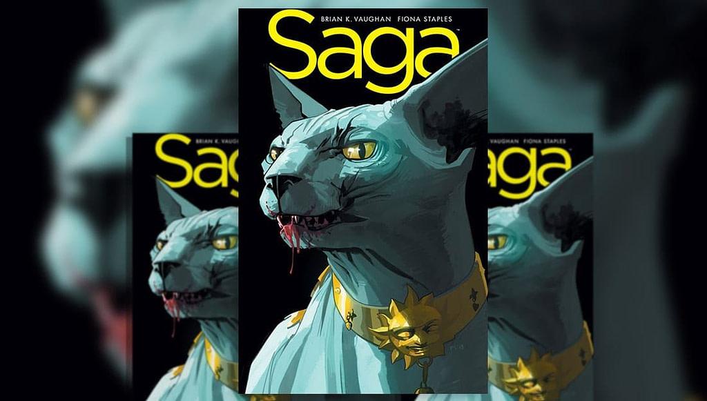 Saga #18 Cover