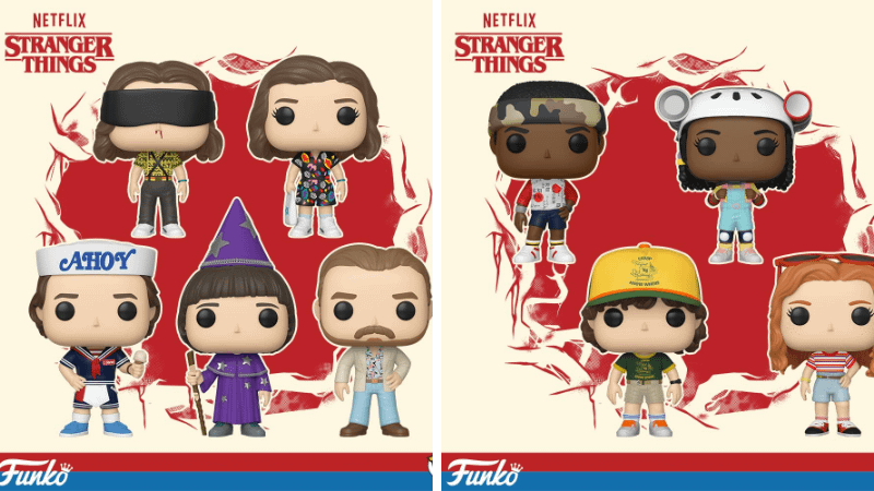 Stranger Things Funko Collectibles