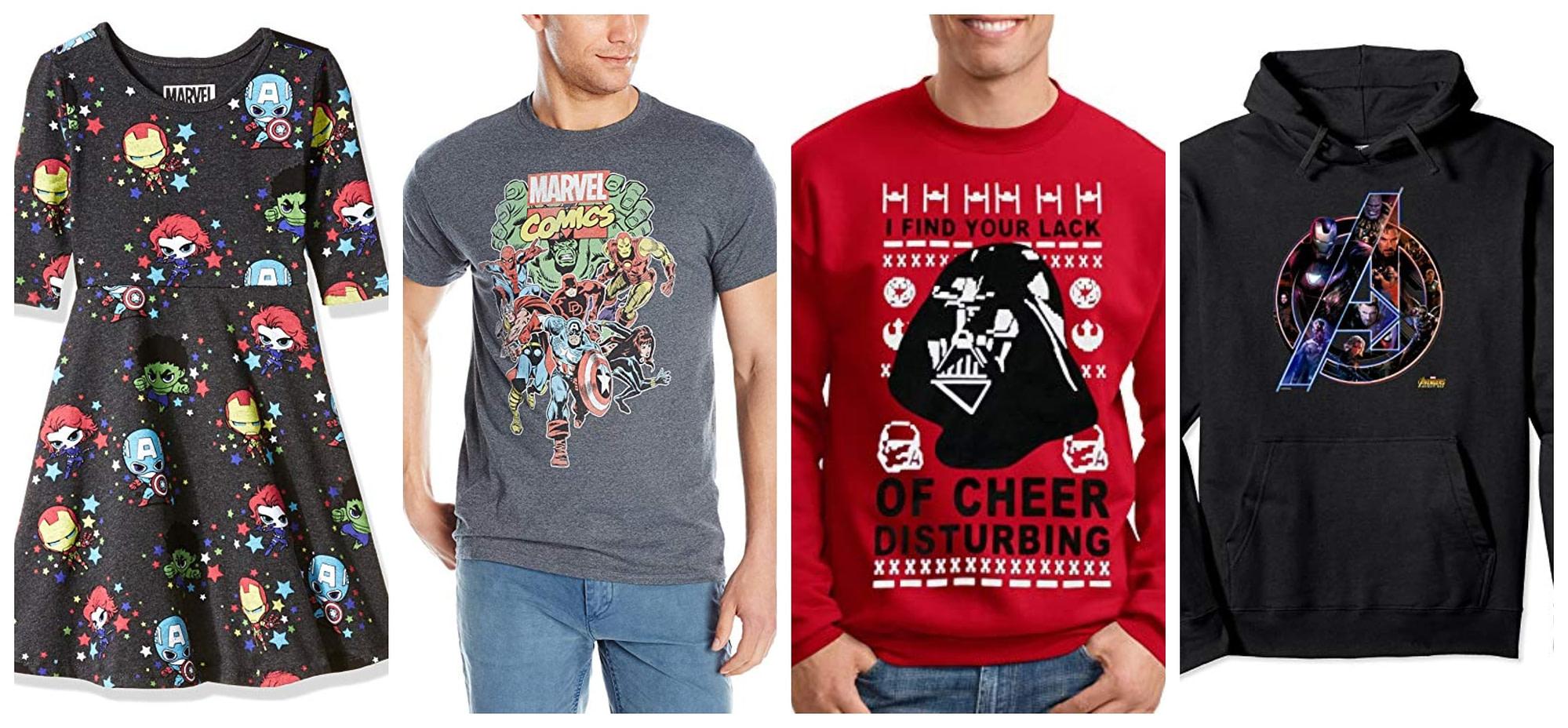 comic clothing