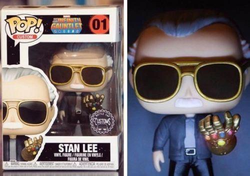 Stan Lee Infinity Gauntlet Funko Pop