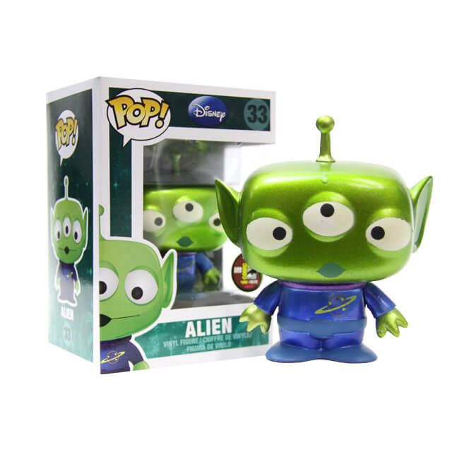 Disney Alien - Funko Pop Metalic